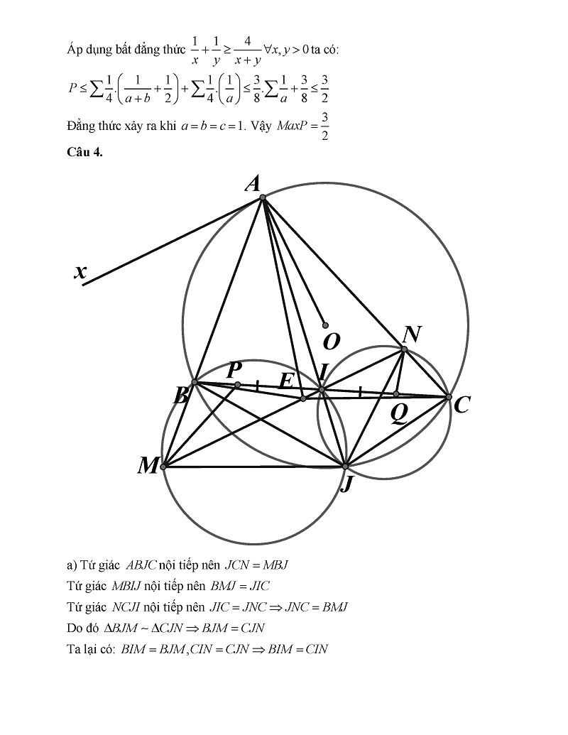 Đề thi chuyên toán Bà Rịa Vũng Tàu 4