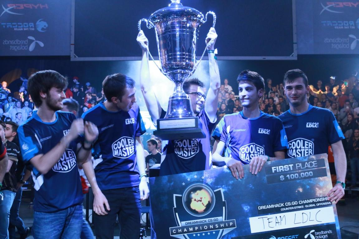 LDLC - чемпионы DreamHack Winter 2014