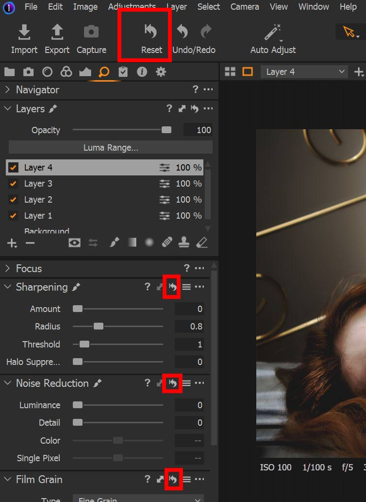 capture one before and after