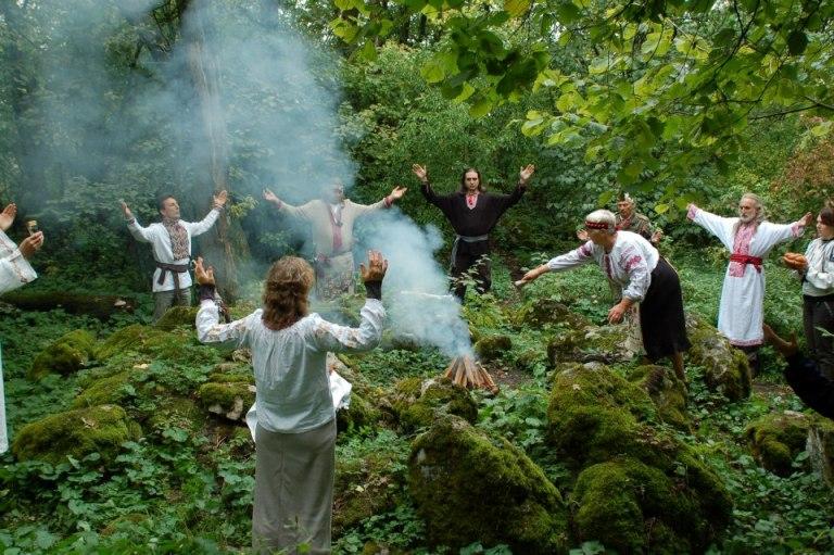 Святкування на Богиті  фото: Слов'янські Вісті. Новини рідновірів Словянщини