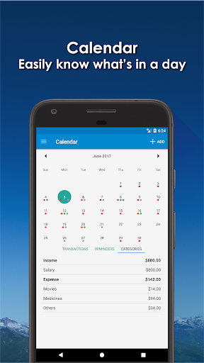 Bluecoins- Finance, Budget, Money, Expense Tracker- screenshot thumbnail