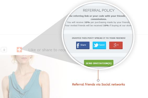 Reward for referrals