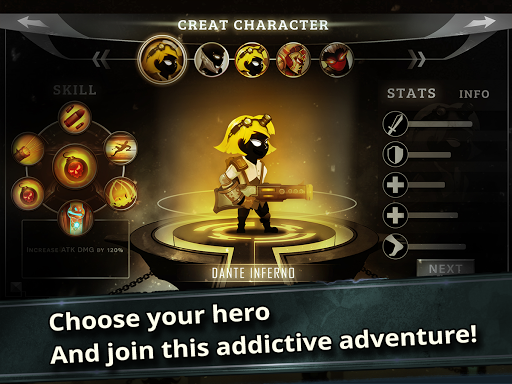 Stickman Legends: Shadow Wars- screenshot thumbnail