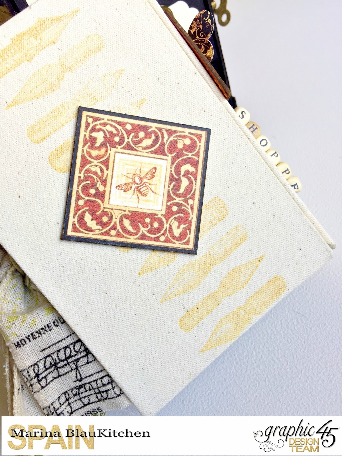 Album Binding Olde Curiosity Shoppe Tutorial by Marina Blaukitchen Product by Graphic 45 photo 14.jpg