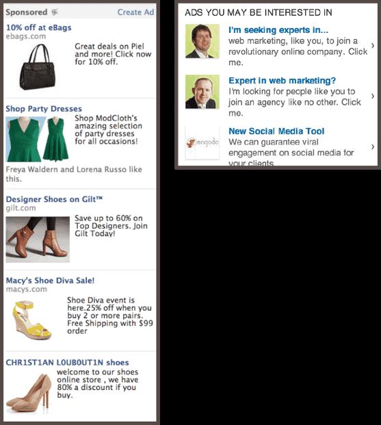 PPC-реклама на Facebook и LinkedIn.
