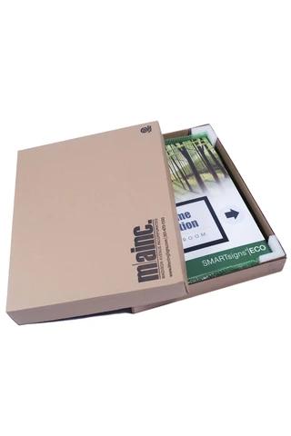 SMARTsign Eco in shipping box