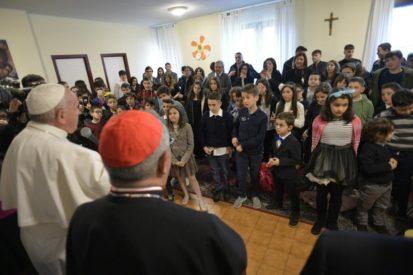 Bài giảng của Đức Thánh Cha tại giáo xứ Thánh Crispin Viterbo