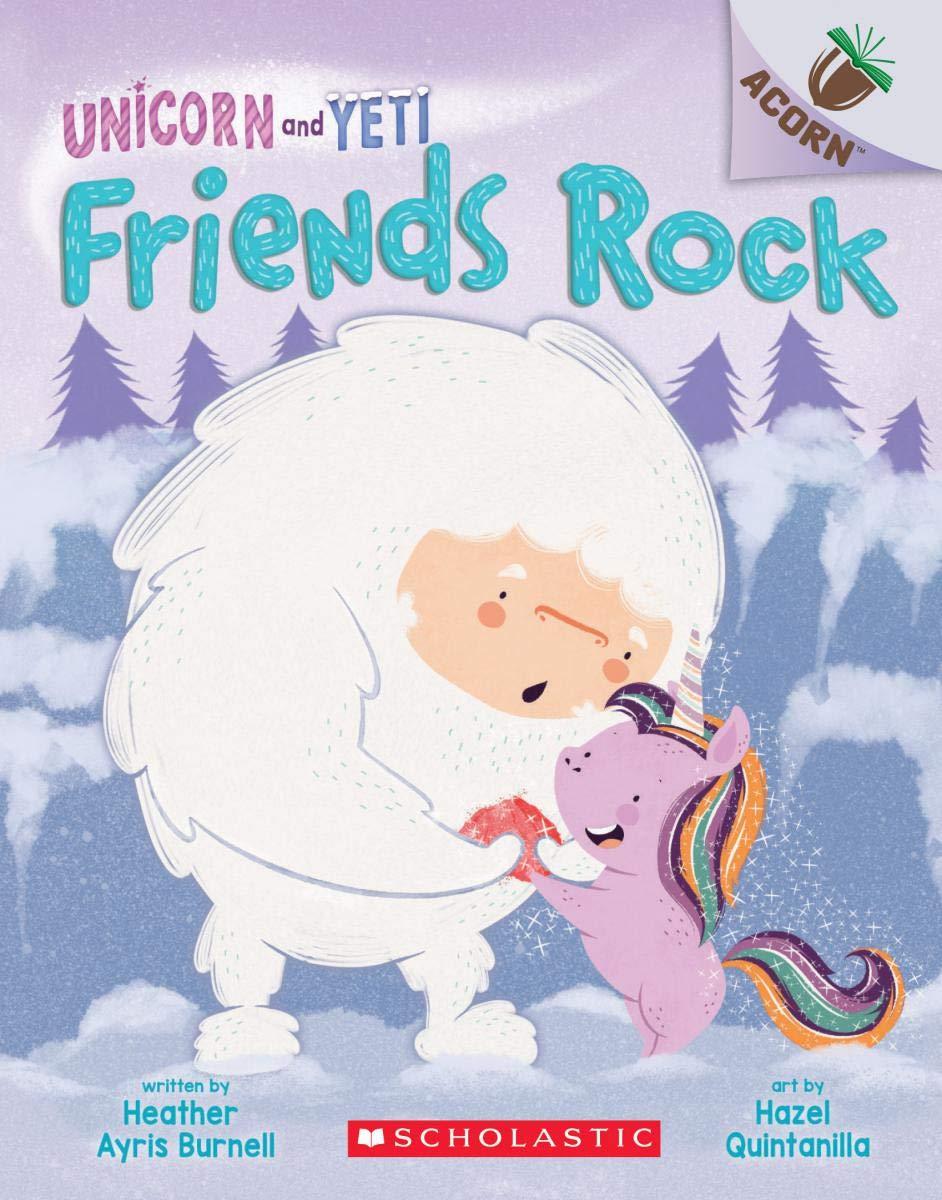 Amazon.com: Friends Rock: An Acorn Book (Unicorn and Yeti #3): An ...