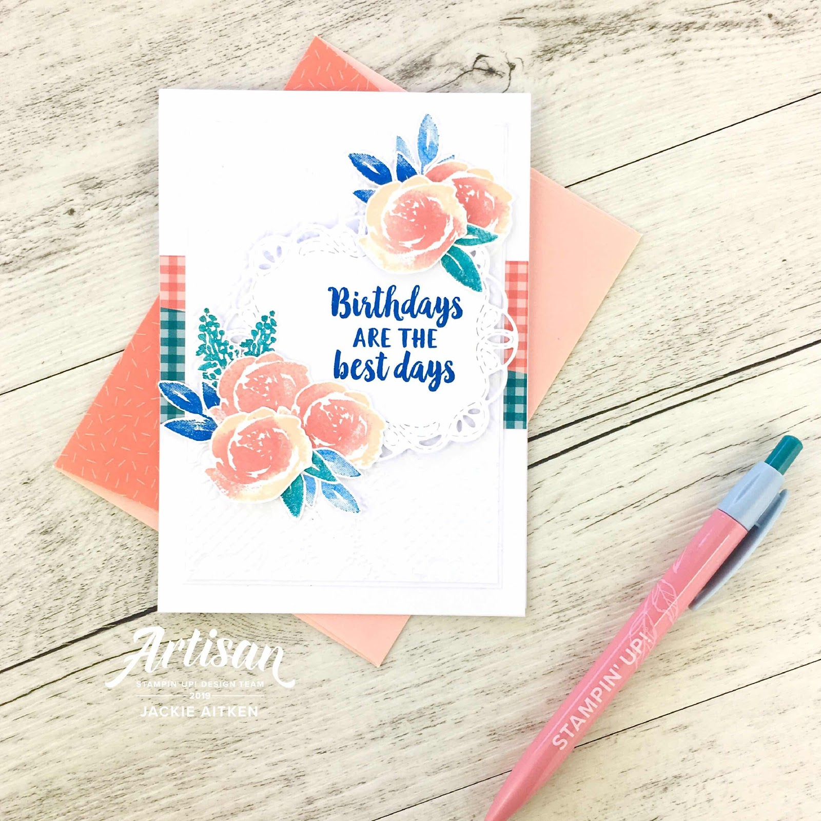 Jaxx Crafty Creations, Beautiful Friendship, 2019-2021 In Colours, Colour INKspiration Blog Challenge, Floral Card,