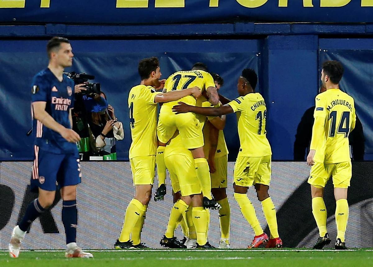 Villarreal đã có được lợi thế lớn sau kết quả ở lượt đi