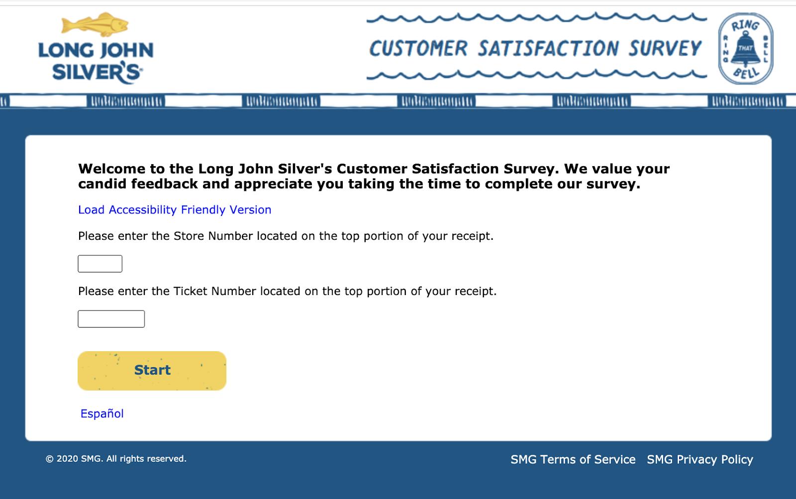 mylongjohnsilversexperience.com survey