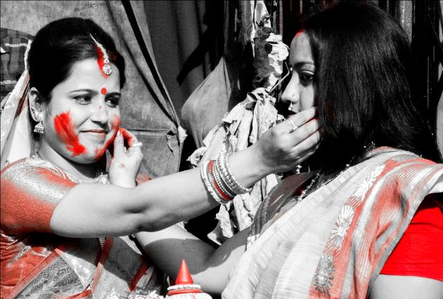 Sindur Khela ritual