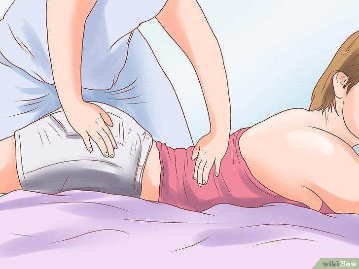 Nằm nghỉ, thư giãn giúp hạn chế cơn đau do chèn ép rễ thần kinh