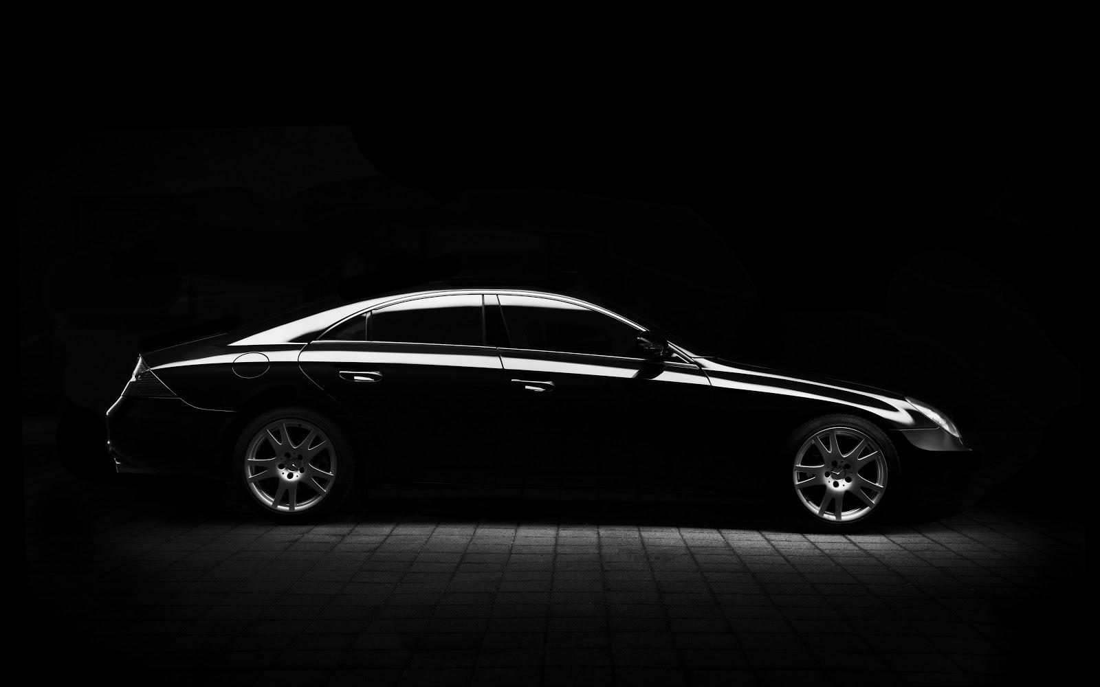 Black Mercedes chauffeur