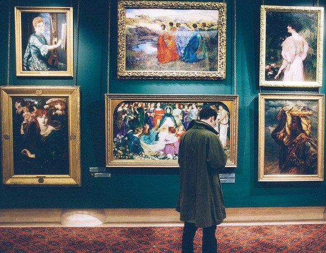 art museum wall