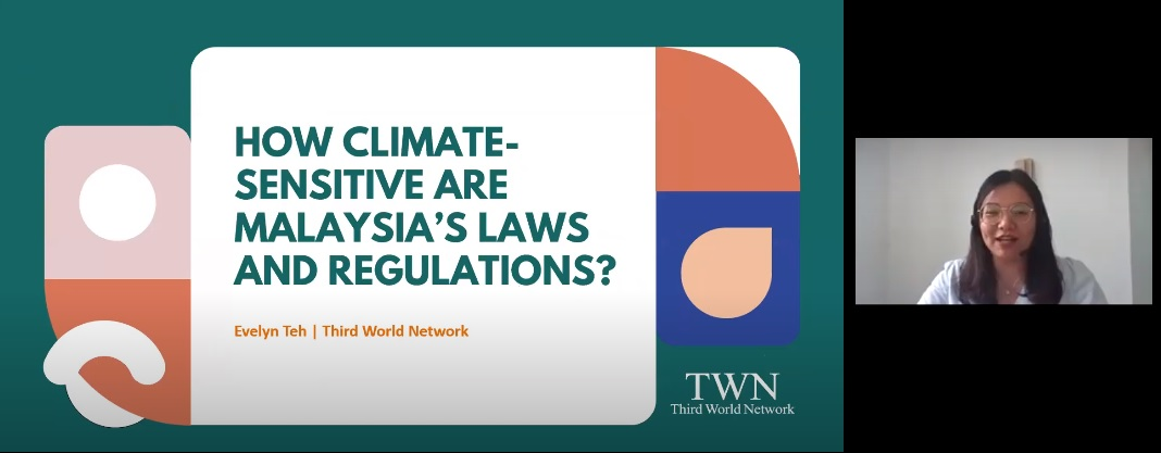 Study Session 3 – How Climate-Sensitive are Malaysia's Laws and Regulations?