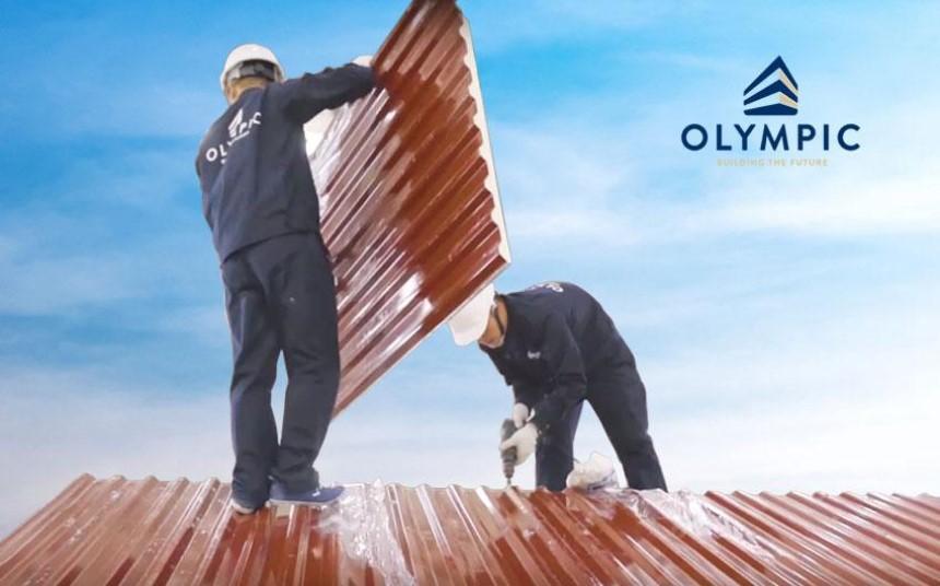 Tôn chống nóng Olympic đảm bảo về chất lượng và giá trị thẩm mỹ