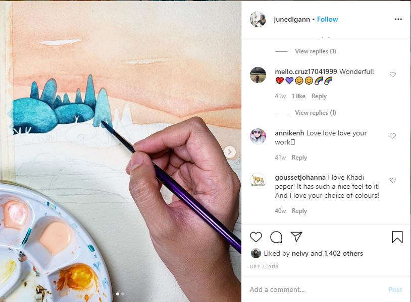 junedigann on instagram June Digan