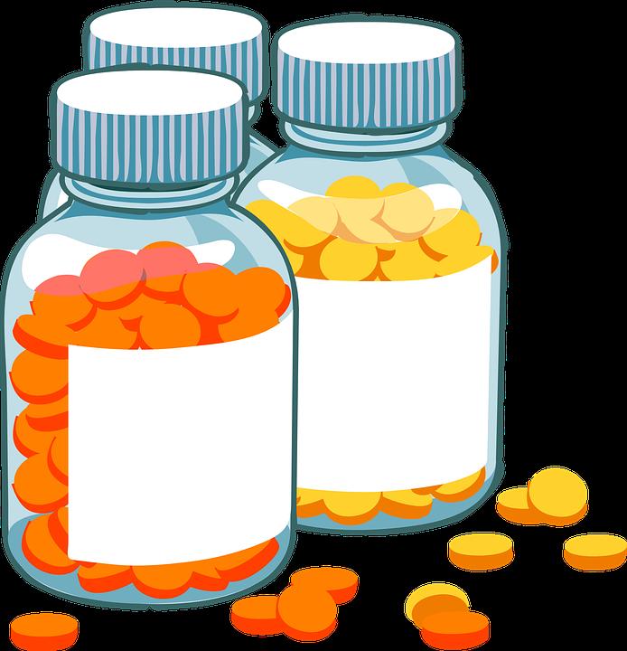 Bottles, Pills, Medicine ...