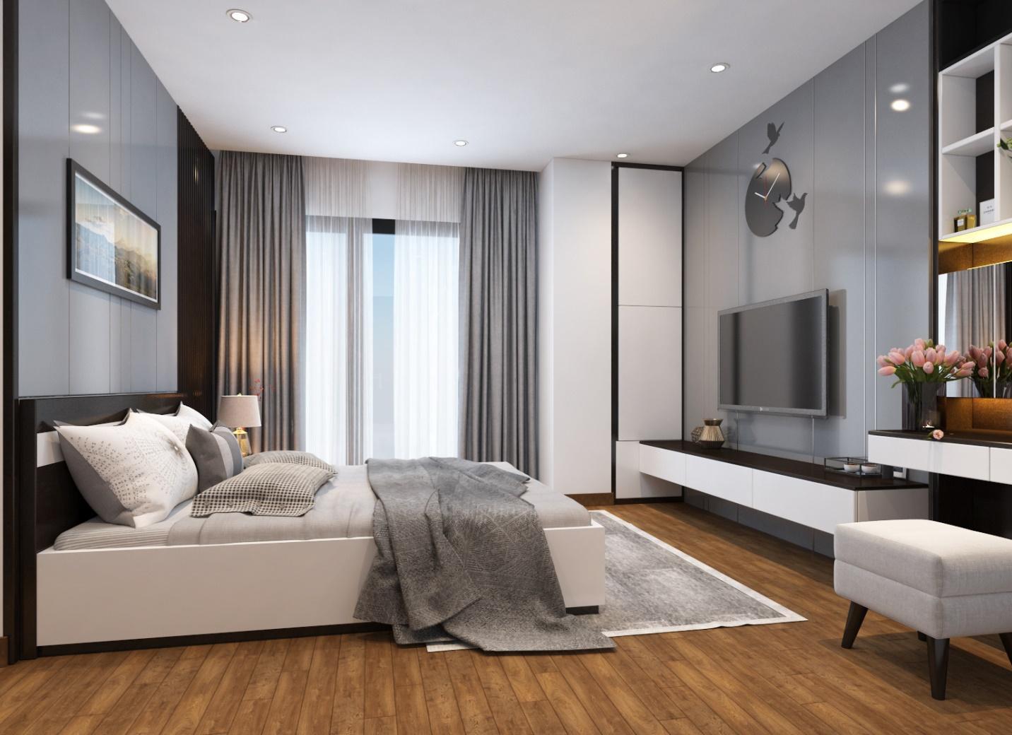 Thiết kế nội thất thiết kế nội thất chung cư 90m2hộ chung cư