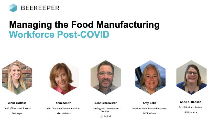 food manufacturing workforce