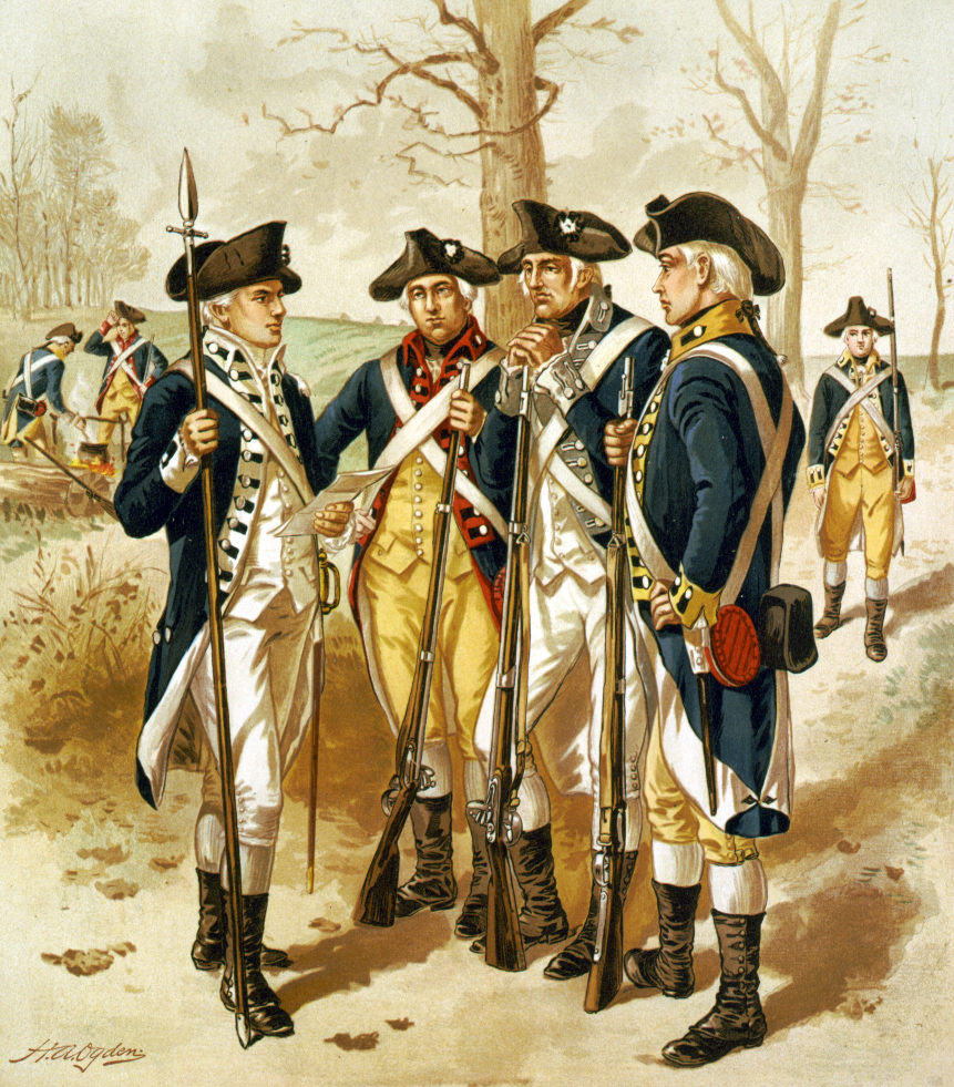 of the Continental Army.