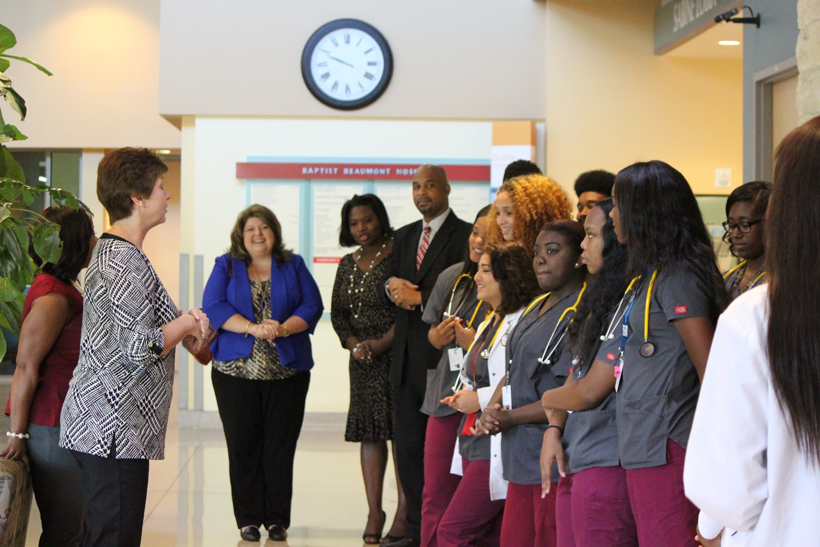 central receives equipment from baptist hospital