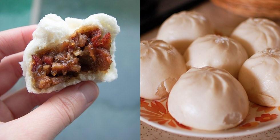 Cha Siu Baau (Bánh bao xá xíu): Lớp vỏ xốp mềm bọc ngoài nhân xá xíu mặn ngọt khiến du khách ăn mãi không chán. Cắn một miếng bánh nóng, bạn sẽ thấy yêu Hong Kong hơn rất nhiều.