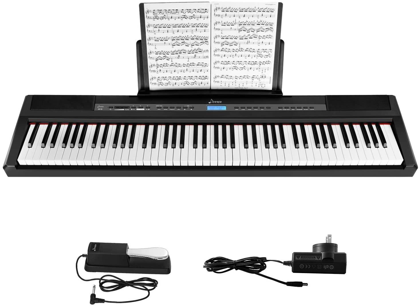 Donner DEP-20 Beginner Digital Piano 88 Key