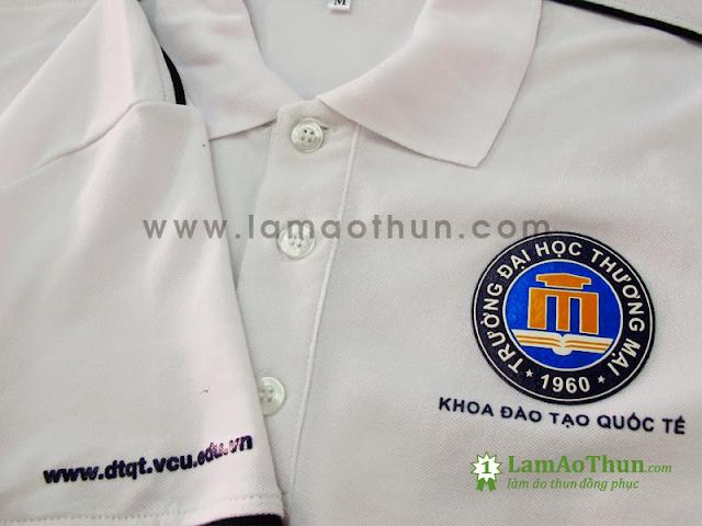 Giá bán đồng phục đại học thương mại tại Blue Morning rẻ và nhiều ưu đãi