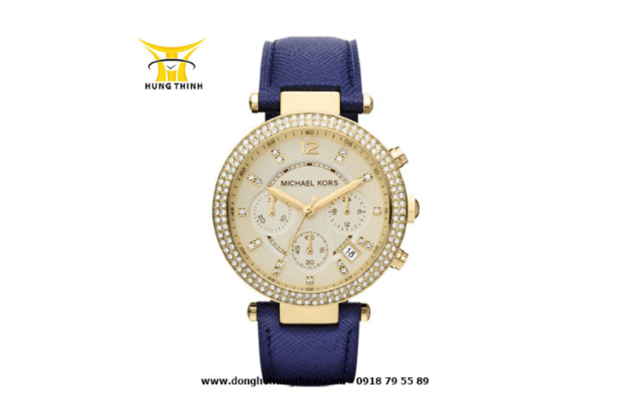 Đồng hồ MK nữ dây da với bộ máy bên trong được đảm bảo chất lượng đạt chuẩn (Chi tiết sản phẩm tại đây)