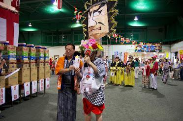 北竜町盆踊り大会2014・個人優勝:ねぶた(雨竜町)