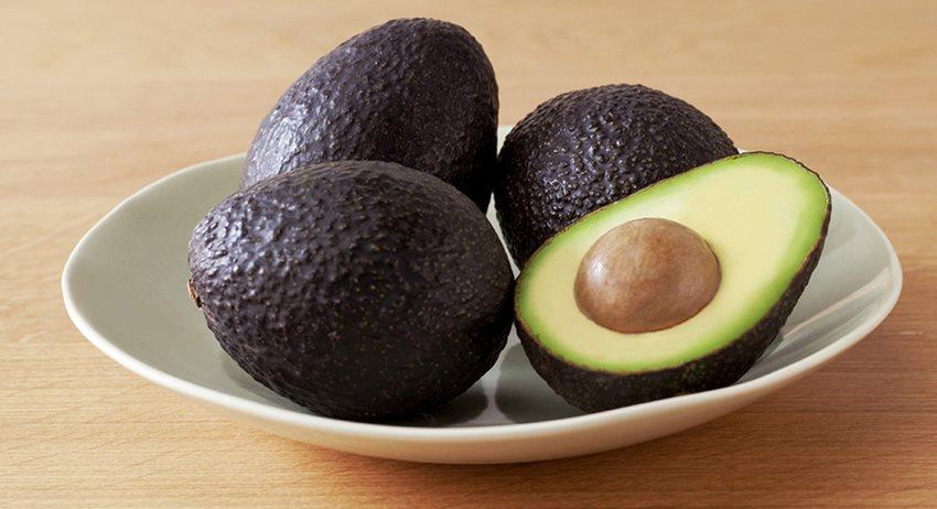 semi ripe avocado