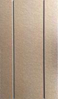 Figure 2-1: Exemple de plaques Caleosol TRADI en pas de 20 et 30cm – Photo de l'isolant rainuré Caleosol Tradi ECO+