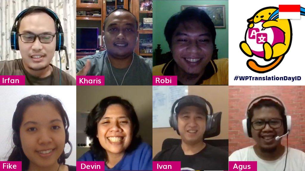 Indonesian translation team