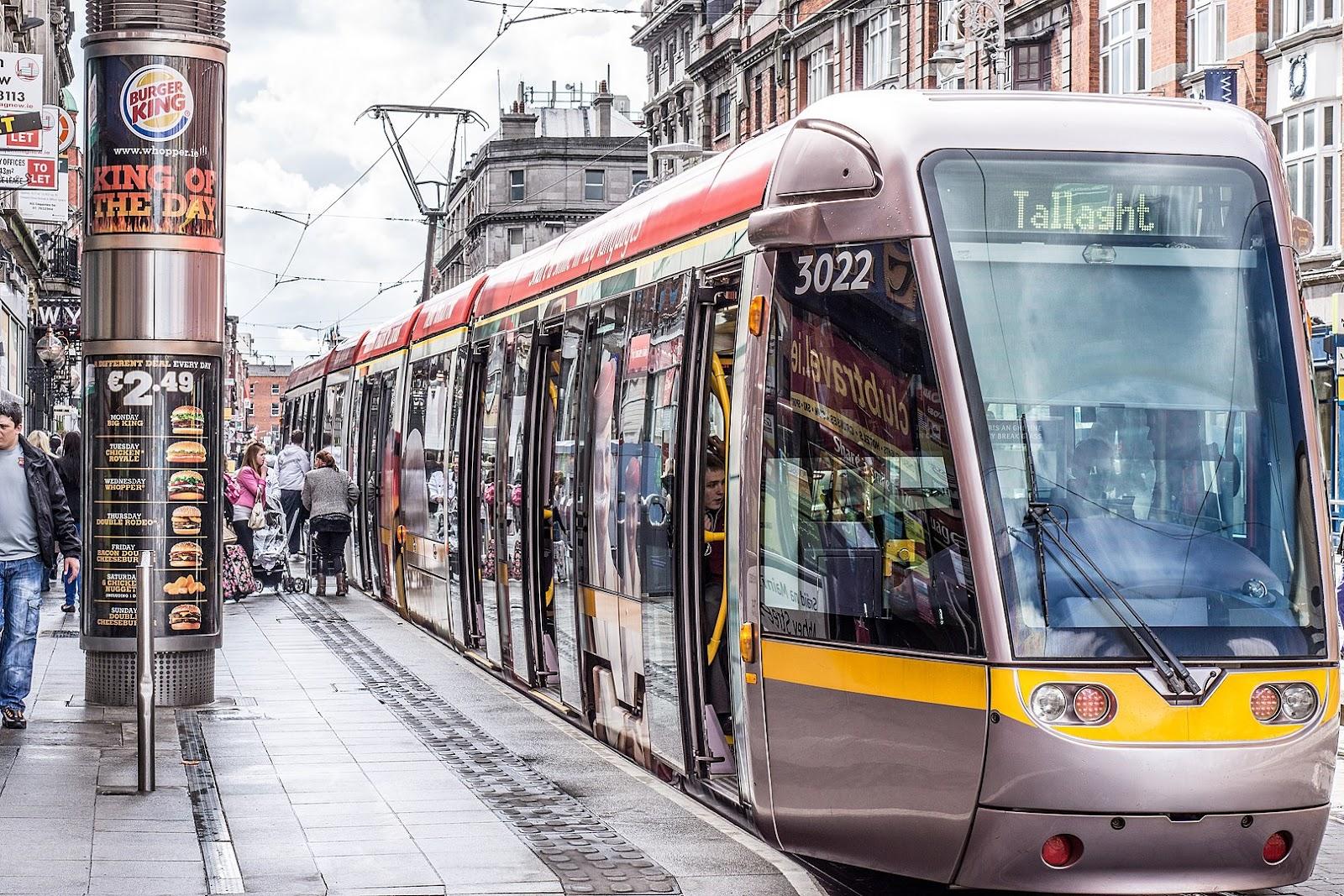 VLTs em Dublin com fácil acesso para todas as pessoas