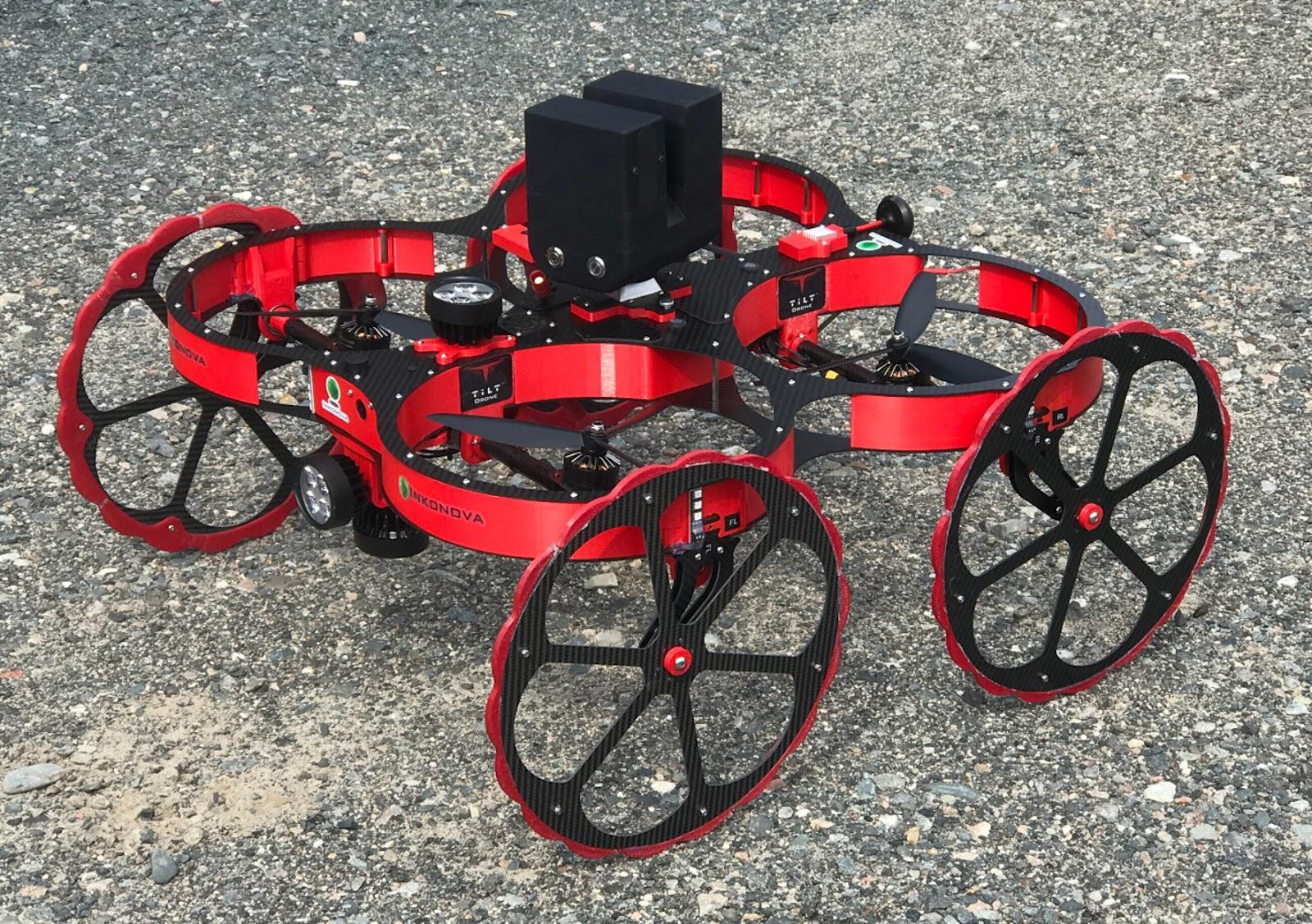 TILT Ranger drone by Inkonova