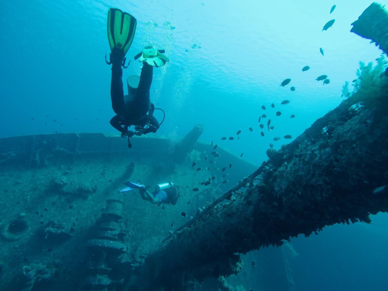 Image of scuba diving in Gili Trawangan