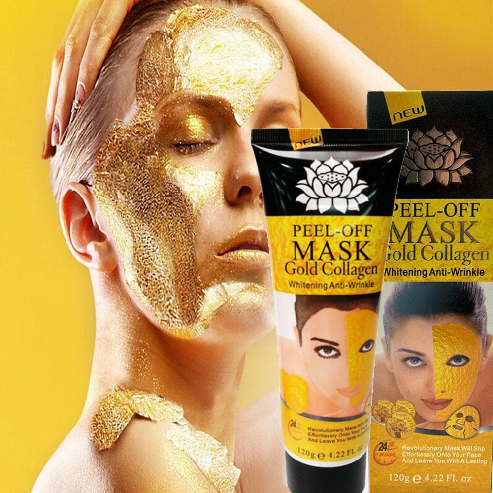 24K Gold Collagen Peel-Off Face Mask