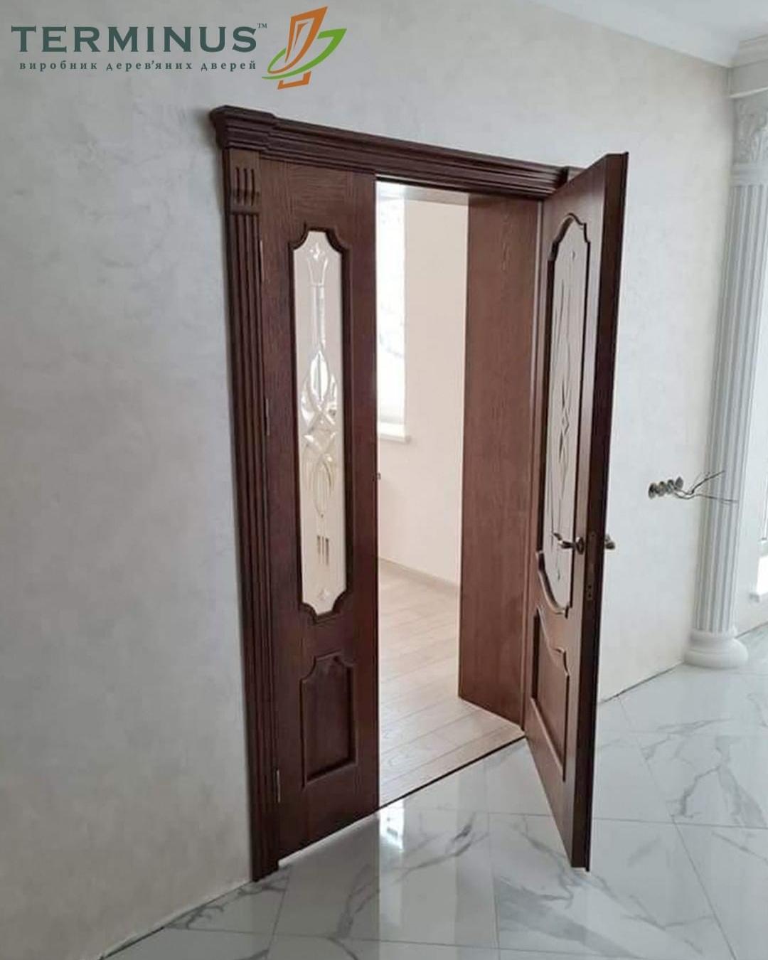 Двері міжкімнатні подвійні
