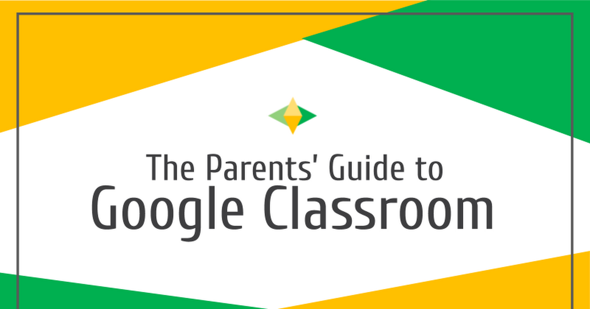 Parents' Guide to Google Classroom - Google Slides