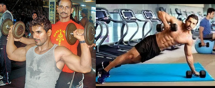 Bollywood Actors Workout Pictures | John Abraham