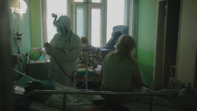 Антирекорд COVID-19. Репортаж із реанімації інфекційного відділення у Києві (відео)