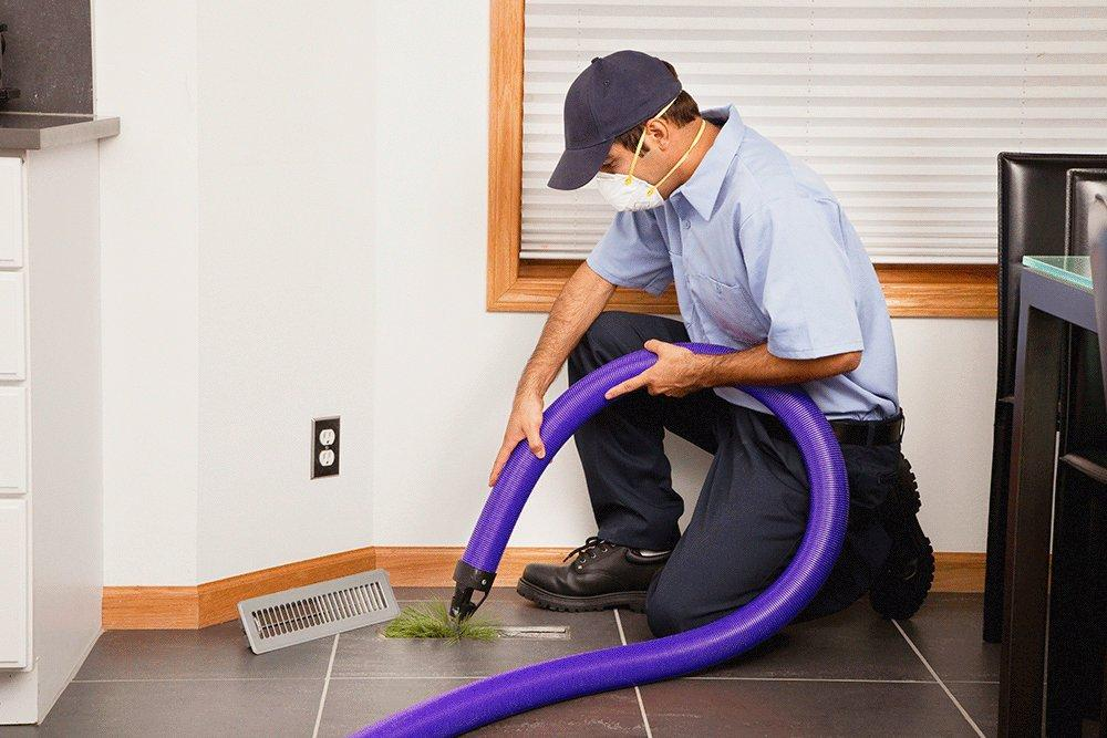 Air Quality Tech's Air Duct Cleaning Process in Katy Texas