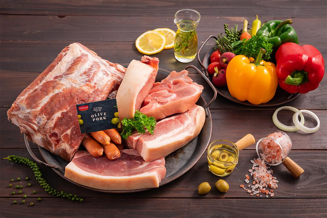 Thịt heo Olive thượng hạng đang có ưu đãi tại Bigsunfood