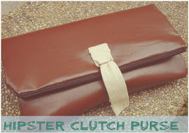 Hipster, the Faux Leather Clutch Purse