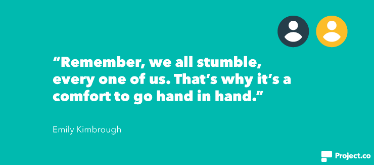 Emily Kimbrough quote
