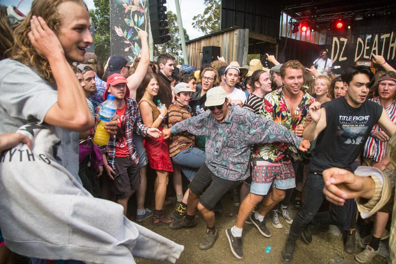 Falls Festival at Marion Bay