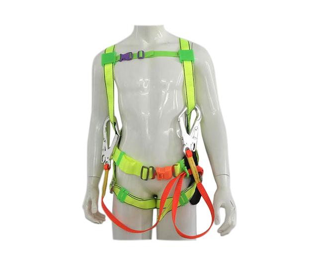 Bạn cần đảm bảo đeo dây đai 2 móc đúng cách theo hướng dẫn của nhà sản xuất