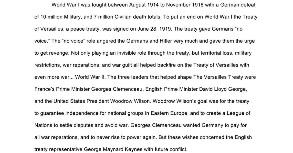 the defeat of the treaty of versailles in the united states The united states rejected the treaty of versailles because they did not want to punish germany that harshly the us felt that the treaty was punishing germany the wrong way and felt that germany would respond back.